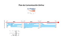 1301 LA POSITIVA Plan de Comunicación Online