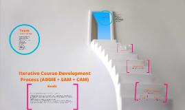 Iterative Course Development Process