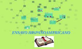 ENSAYOS HISPANOAMERICANOS
