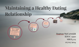 How to maintain a healthy dating relationship