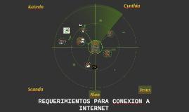 Copy of REQUERIMIENTOS PARA CONEXION A INTERNET