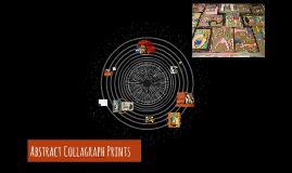 Abstract Collograph Prints