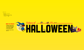 Copy of Halloween Timeline