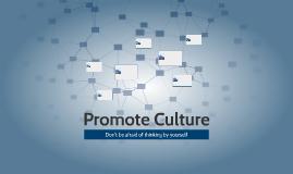 Promote Culture