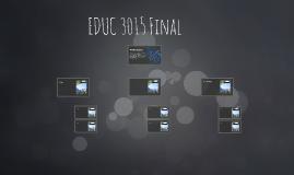 EDUC 3015 Final