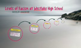 Levels of Racism at Westlake High School