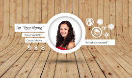 Free Template - A few things about me by Pei-Hua Huang