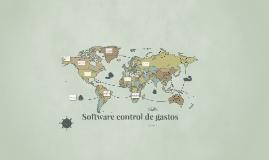 Software de control de gastos