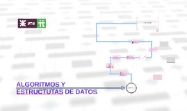 Algoritmos y estructuras de datos