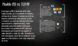 Modelo OSI vs TCP/IP