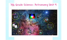 Unit 4 - Astronomy