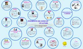 Copy of EXPONENTES DEL SIGNO EN LA CULTURA.
