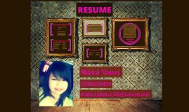 Maricel Resume