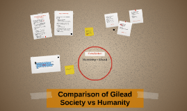 Copy of Comparison of Gilead Society vs Humanity