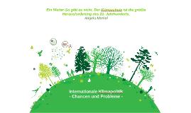 Copy of Referat Internationale Klimapolitik