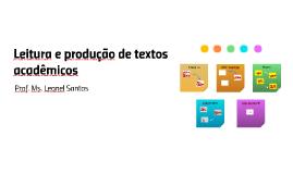 Leitura e produção de textos acadêmicos