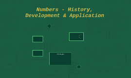 Numbers - History, Development & Application