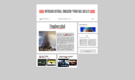 Copy of DIVERSIDAD CULTURAL, EDUCACION Y PROBLEMAS SOCIALES