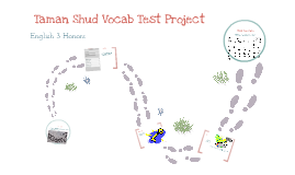 Taman Shud Vocabulary Test Project