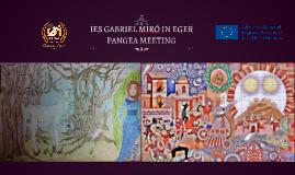 EGER PANGEA MEETING IES GABRIEL MIRÓ- EGER (HUNGRÍA) PANGEA