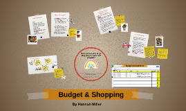 Budget & Shopping