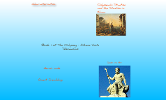 The Odyssey: Book 1, Athene Visits Telemachus