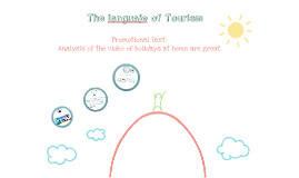 The languaje of tourism