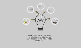 Desarrollo de Actividades Fortalecimiento de TIGs IDU