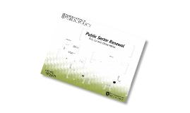 Copy of Public Sector Renewal