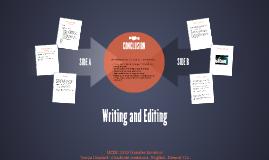 Writing & Editing Process