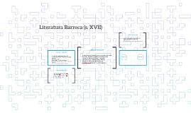 Literatura Barroca (s. XVII)