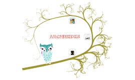 Archimedes Presentation