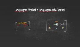 Copy of Linguagem Verbal e Linguagem não verbal