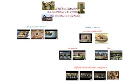 Copy of ingeniería romana/ciudad romana (vídeos)