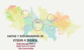 Cartas y declaraciones: de ottawa a yakarta