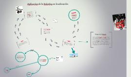 Copy of Aplicacion de la Robotica en la educación