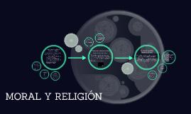 MORAL Y RELIGIÓN