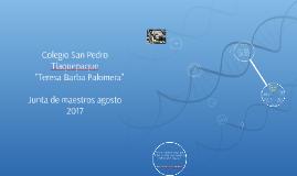 """Colegio San Pedro Tlaquepaque """"Teresa Barba Palomera"""""""