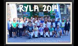 RYLA 2014 - Luke & Ella