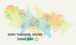 MBSH Yearbook: Golden Theme Idea