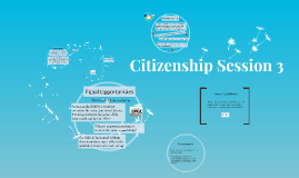 Citizenship Session 4