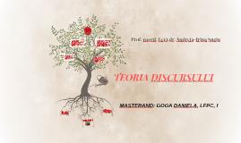 TEORIA DISCURSULUI
