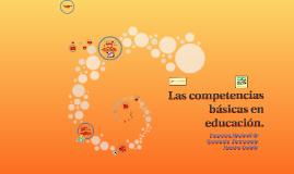 Copy of Las competencias básicas en educación. PNFP
