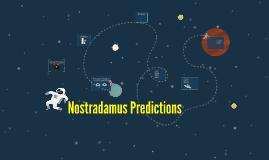 Nostradamus Predictions