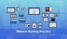 Modern nursing practice