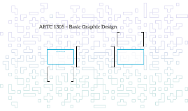 ARTC 1305 – Basic Graphic Design