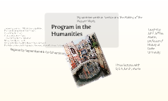 Program in the Humanities