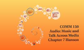 Audio: Music and Talk Across Media