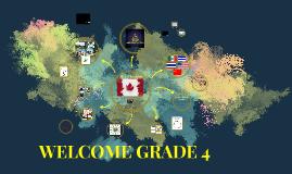 WELCOME GRADE 5