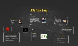 IEPs Made Easy